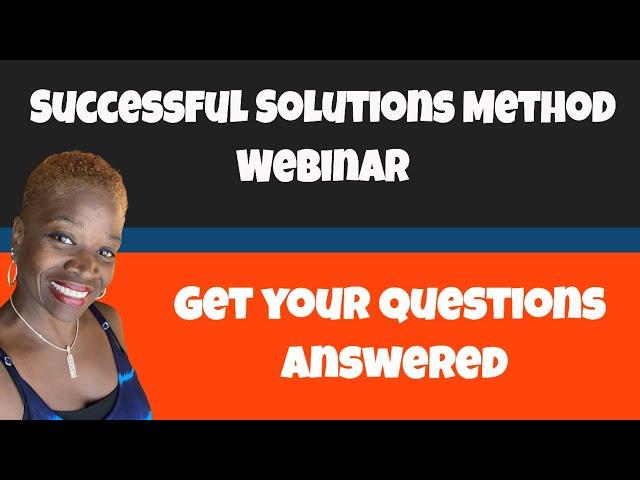 Successful Solution Method Webinar 2020 |  The Team Where Everyone Wins