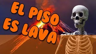 THE FLOOR IS LAVA | Roblox The Floor Is Lava in Spanish