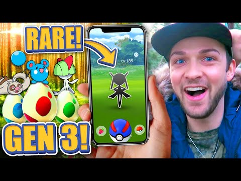 Download Youtube: The RAREST POKEMON in Pokemon GO GEN 3! (NEW EGGS)