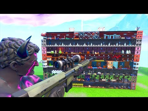 FORTNITE : SNIPERS vs RUNNERS