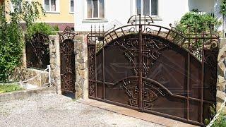 Кованные ворота и заборы. Оригинальные ворота и заборы!(http://goo.gl/KeSSjv Кованые заборы и ворота всегда имели большую популярность. Они используются для ограждения..., 2014-09-18T12:19:24.000Z)