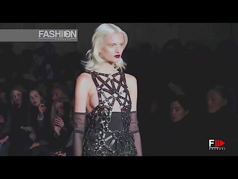 ZANA BAYNE - NYFW Fall 2014 New York - Fashion Channel