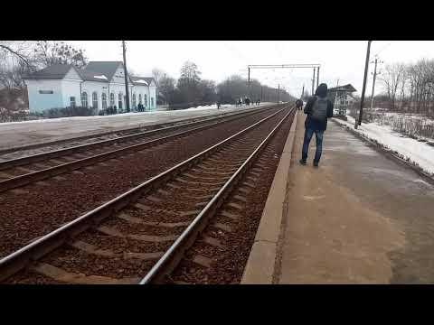 6425 Харьков-Левада — Савинцы. Прибытие на станцию Комсомольская (Слобожаньска)