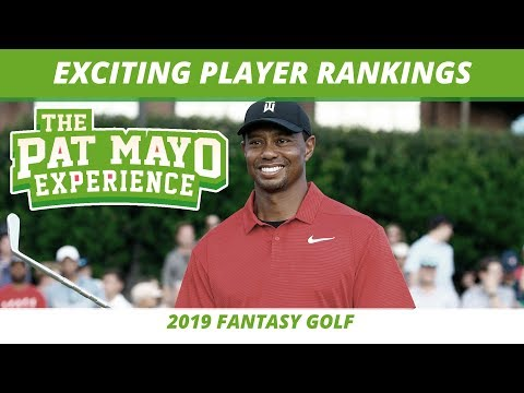 2019 Fantasy Golf Rankings - Top 10 PGA Players To Be Excited About