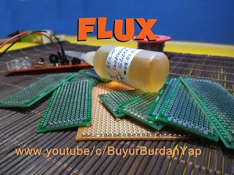 Do it yourself, how to make flux