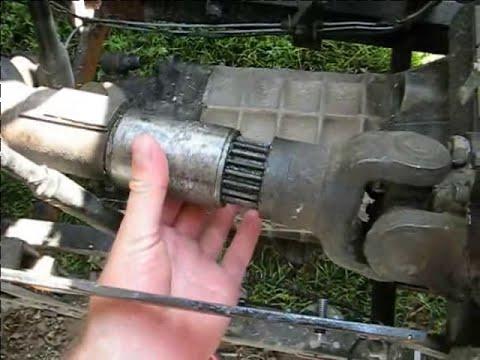 Как сделать из переднего привода сделать полный 155