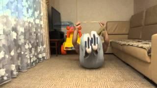 Как накачать пресс   Упражнения для пресса   убрать живот и бока     тренировка № 30(Данное видео входит в состав кратких курсов по укреплению мускулатуры, тренировок в домашних условиях,а..., 2013-06-26T14:01:25.000Z)