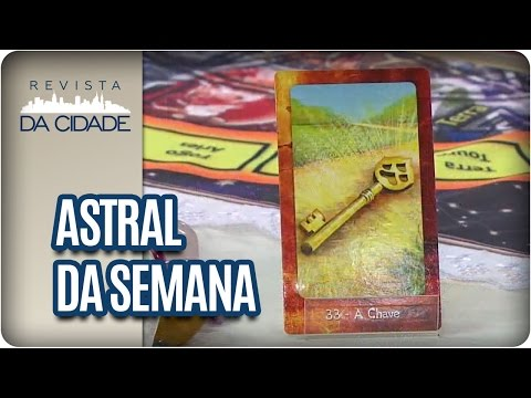 Astral da Semana| Mensagem e  Carta da Semana e Previsões dos Signos - Revista da Cidade (23/01/17)