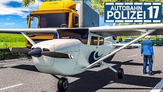 Flugzeug-NOTLANDUNG und Crash! AUTOBAHNPOLIZEI-SIMULATOR 2 #17 | Autobahn Police Simulator 2 deutsch