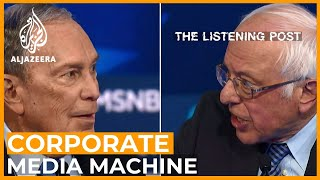 Bernie Sanders vs Bloomberg and the corporate media machine | The Listening Post (Full)