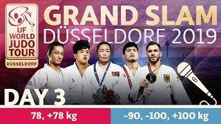 Judo Grand-Slam Düsseldorf 2019: Day 3