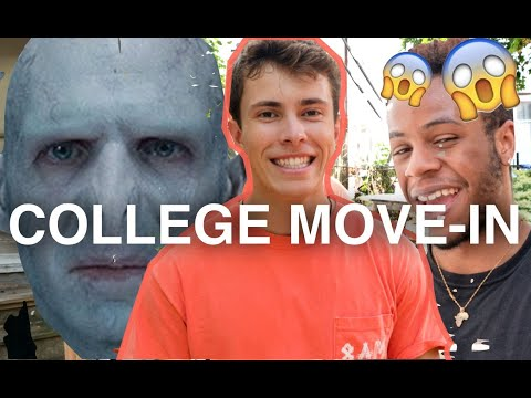 COLLEGE MOVE IN DAY 2017