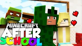 Minecraft After School - LITTLE LIZARD'S SECRET DATE WITH SARAH?!