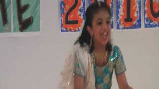 "KAGW Talent Time 2010 - ""Babuji zara Dheere chalo"" Ashlyn Rocky - Cinematic Dance"