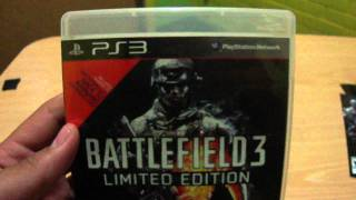 Unboxing Battlefield 3 , PS3 LIMITED EDITION chile.