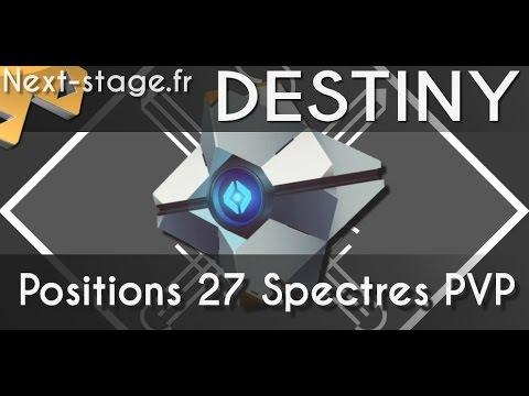Destiny | Guide | Positions des 27 nouveaux Spectres Défunts en PVP