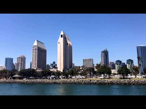 San Diego Skyline from Harbor Cruise Jul-2017