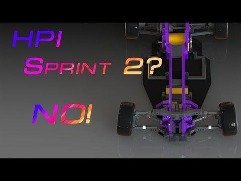 RWD Drift  шасси на базе HPI Sprint 2 #1