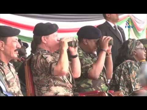 KDF, Jordan allies in a show of military might