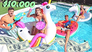 LAST TO LEAVE THE POOL WINS $10,000!