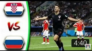 Russie vs Croatie 4-3 : Résumé et tout les buts / Highlights / World cup 2018 / Pénaltie penalty