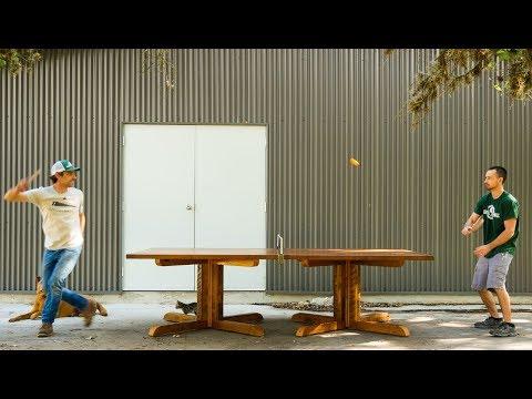 AR9: Making A Custom Ping Pong Table