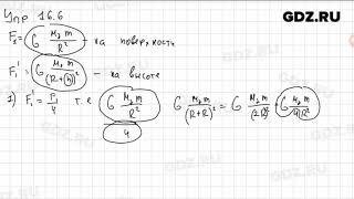 Упр 16.6 - Физика 9 класс Пёрышкин