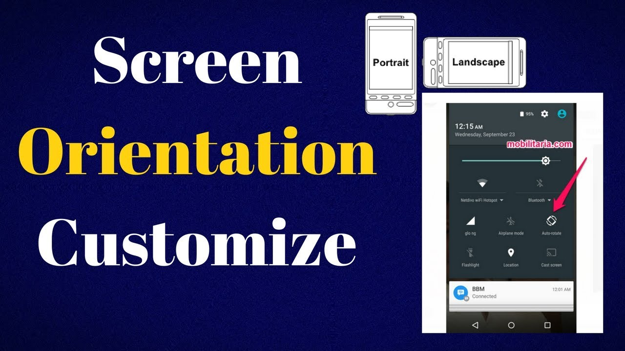 screen orientation customize in android studio youtube. Black Bedroom Furniture Sets. Home Design Ideas