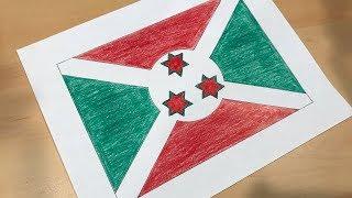 Burundian Flag 🇧🇮
