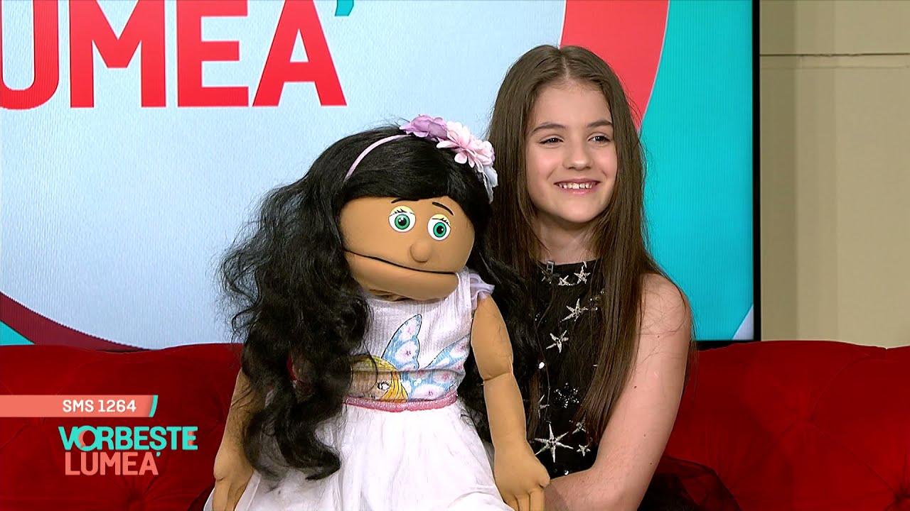 Ana Maria Mărgean, fetița ventriloc de la