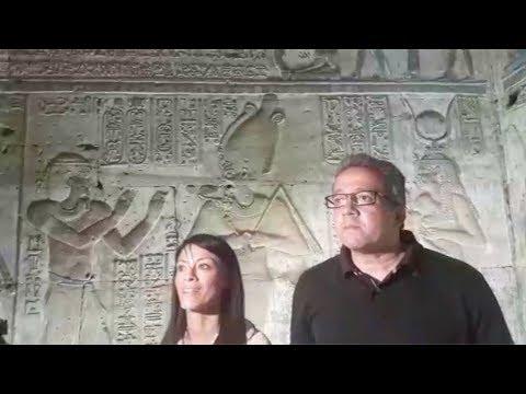 وزيرا الآثار والسياحة يفتتحان معبد الأوبت بعد سنوات من إغلاقه