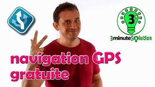 3 minute Solution - navigation GPS gratuite sur Android avec MapFactor Navigator