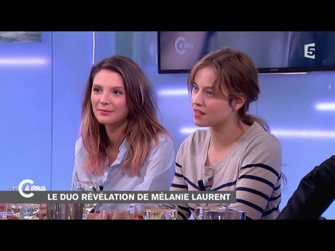 Lou de Laâge et Joséphine Japy jeunes pousses du cinéma français  C à vous  07112014