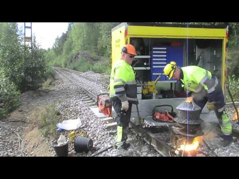 Thermite rail welding: PALLASWELD TH-12
