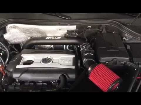 CTS TURBO COLD AIR INTAKE APR STAGE 1 TIGUAN INTAKE NOISE INSIDE CABIN LOUD !!!