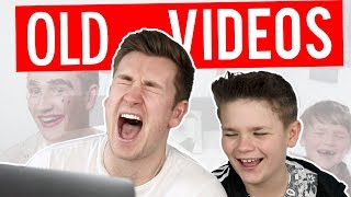 BROTHERS REACT TO OLD VIDEOS