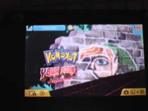how to get a randomized pokemon game on my 3ds