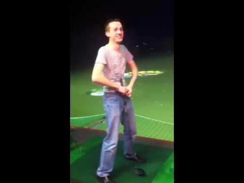 Best naked disc golf shot ever! - YouTube
