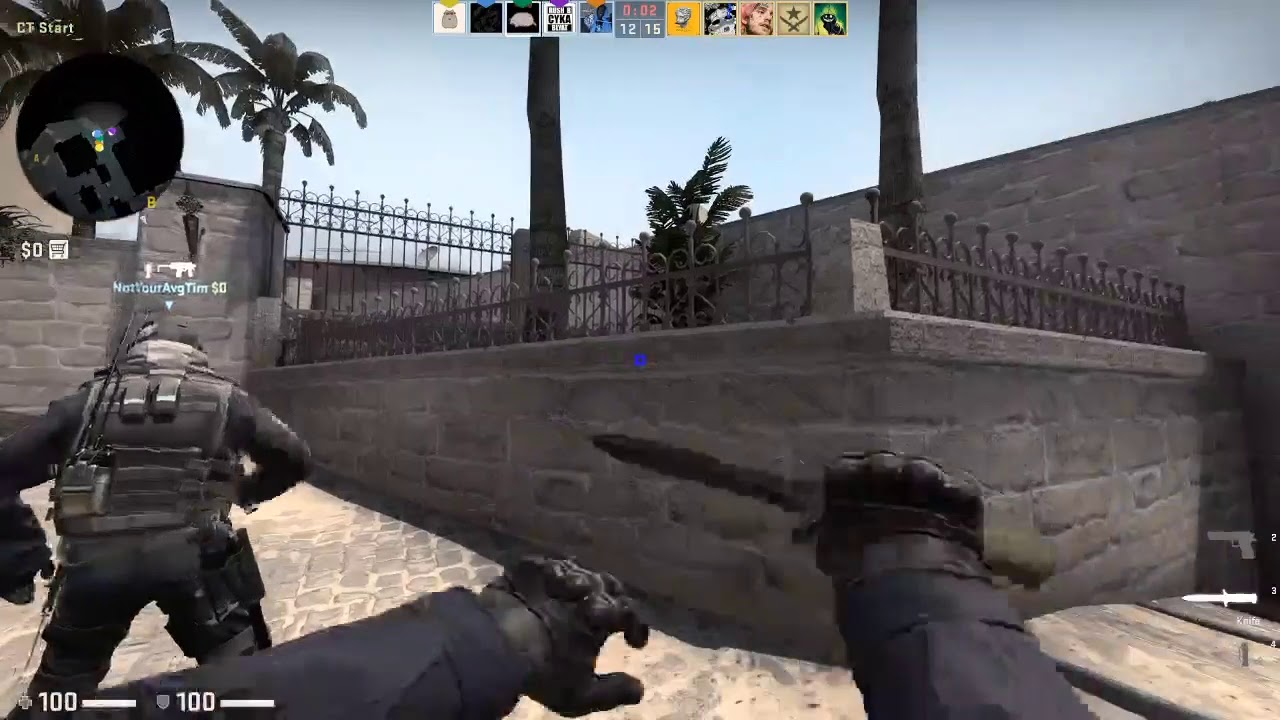 CSGO funny moments XD but its not rlly funny its mostly earape and its 2 months old