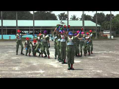 Fuhua Secondary School Freestyle Drill 2015