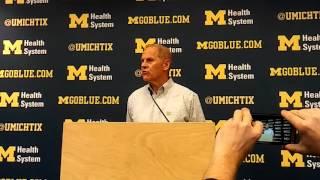 Michigan basketball: John Beilein discusses Moritz Wagner