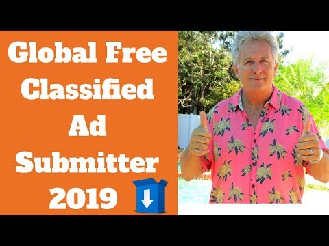 Global Free Classified Ad Submission Software Updated 2019