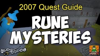 Runescape 2007  Rune Mysteries Quest Guide