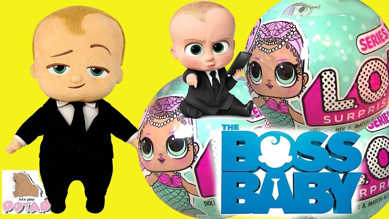 БОСС МОЛОКОСОС 2017 МУЛЬТФИЛЬМ. Игрушки Лол Baby Dolls Куклы Барби .