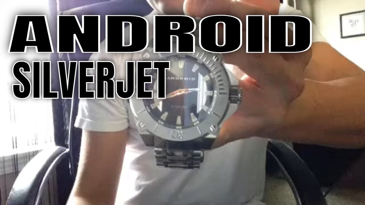 Android usa watches review android silverjet watch youtube for Android watches