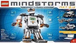Обзор Lego Mindstorms NXT 2.0 + Сборка робота SegWay + Логика