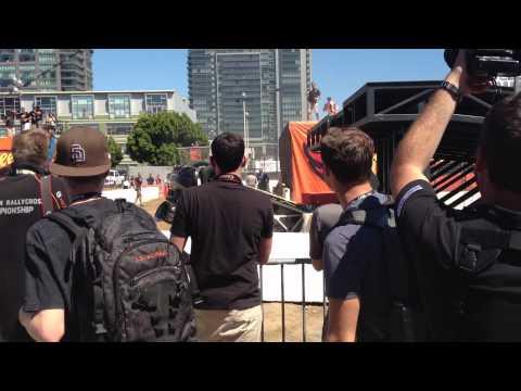 X Games Los Angeles 2012:  Rally Crash