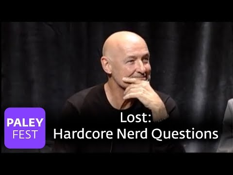 Lost - Some Hardcore Nerd Questions (Paley Center Interview)