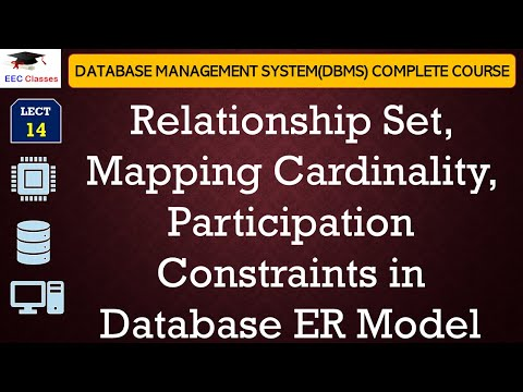 Relationship Set, Mapping Cardinality, Participation Constraints in DBMS