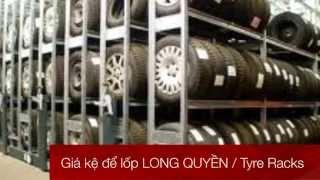 Giá Kệ để Lốp Long QuyỀn
